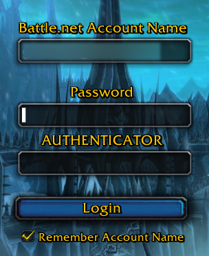 Authenticator Frame